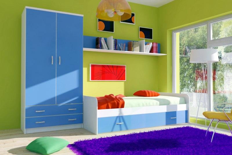 armario themy 2p azul