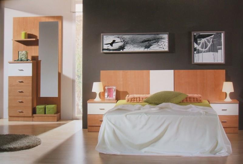 dormitorio cerezo blanco