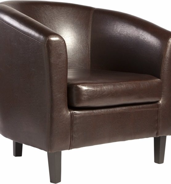 MOBE.SILLON SOGO TUBULAR POLI.CHOCOLATE