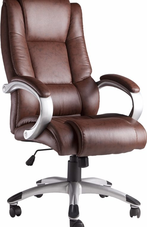 MOBE.SILLON OREGON ERGONOMICO OFICINA CHOCOLATE