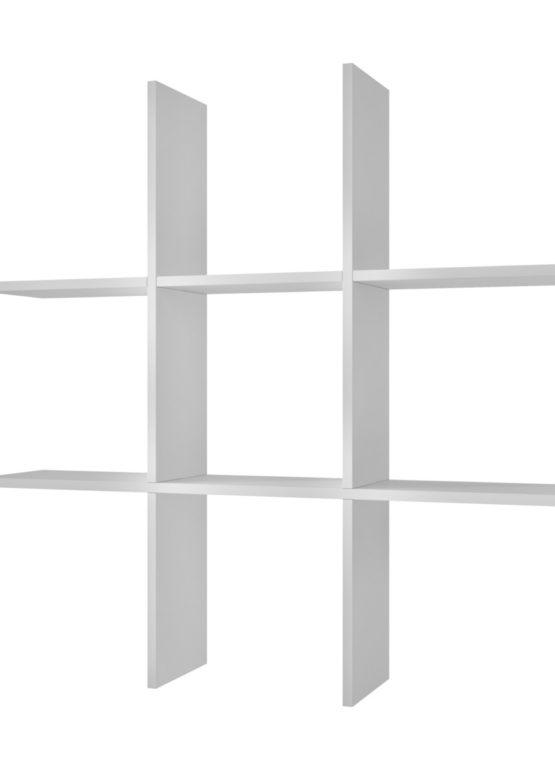 Estantería Pared NATAL [EP-300] 90x90x20 Blanco