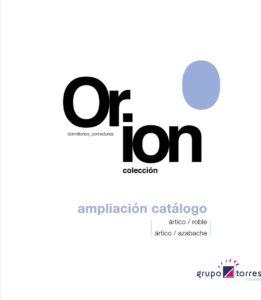 Ampliación catálogo Orión